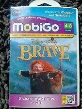 NEW in orig packaing MobiGo Disney BRAVE 5 learning games 4-8yrs