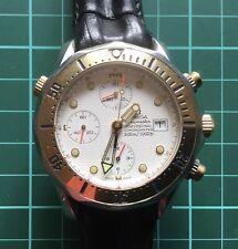 Omega Seamaster Professional Chronometer/Chronograph - Yellow Gold Bezel Insert