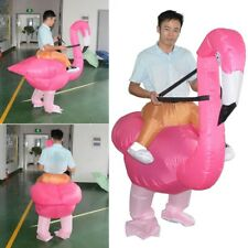 Inflatable Costume Blowup Flamingo Toys Xmas Halloween Party Cosplay Adult