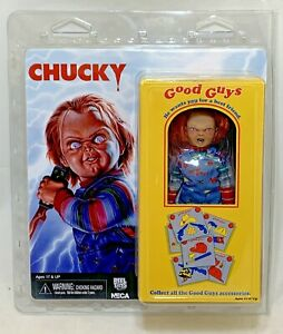 """MISP NECA CHILD'S PLAY 5.5"""" CHUCKY Retro Clothed action figure Cult Horror Movie"""