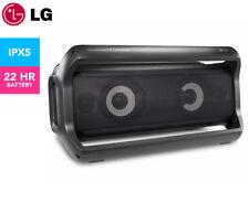 LG PK7 Portable Bluetooth Speaker w/ Meridian Technology - Black