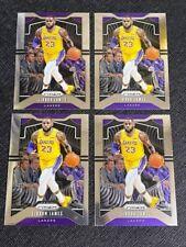 (4) 2019 Prizm #129 LeBron James Card Lot 4 LAKERS SUPER HOT
