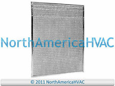2x OEM Intertherm Nordyne Furnace A-Coil Air Filter Aluminum Mesh 19 x 16 917763