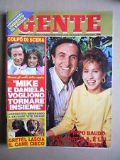 GENTE n°44 1984 Mike Bongiorno Liz Taylor Walter Reder Salvatore Fiume [D54]