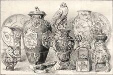 Sale of the Blenheim China at Christie's: Some Rare specimens. Oxfordshire, 1886