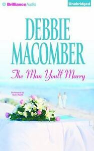"""Debbie Macomber MAN YOU""""LL MARRY Unabridged CD *NEW* FREE Shipping!"""