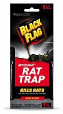 6 Pack Black Flag Accusnap Rat Trap Easy to Set 1 Rat Trap Each