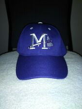 Promotional Adventures Purple Mississippi Braves Minor League Baseball Hat/Cap