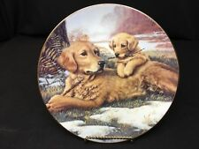 "Hamilton Collection Limited Edition ""Golden Moments"" 8&1/4"" Plate Signed"