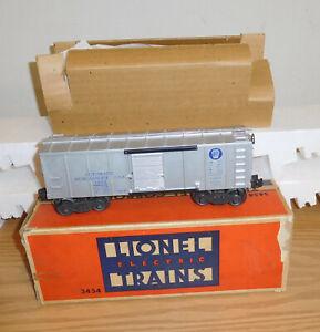LIONEL ORIGINAL POSTWAR #3454 PENNSYLVANIA MERCHANDISE OPERATING BOXCAR BOXED