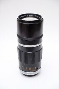 Canon FL 200mm f3.5 Prime Lens, Tested & working FD/FL mount. Digital Adaptable