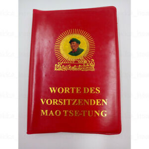 Worte des Vorsitzenden Mao Tse-Tung China Mao Bibel Politik Sozialismus Sammlung