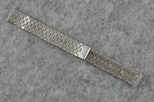 Vintage ZRC Stretch Watch Bracelet - 1970s - 14 to 18mm - Made in France