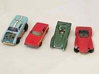 MATCHBOX Speed kings Super Cars Hot Rod 1971 1972 1976 Vintage Lot of 4