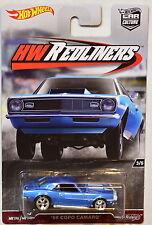 HOT WHEELS 2017 CAR CULTURE HW REDLINERS '68 COPO CAMARO BLUE #3/5
