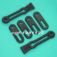 RUBBER HOOD DOOR STRAP LATCH KIT FIT YAMAHA RHINO 700 660 450 ALL YEARS & MODELS