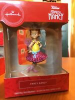 Hallmark Disney Junior Fancy Nancy Christmas Ornament 2019 Cake Topper Gift Tag