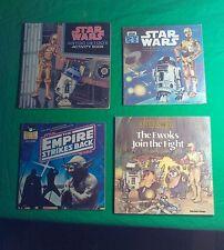 Vintage Star Wars book lot Ewoks, Empire, R2 D2, original