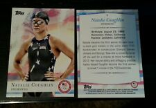 2012 Topps Olympics base card #9 Natalie Coughlin, swimming