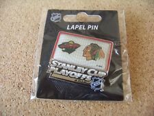 2015 Stanley Cup Playoffs pin Minnesota Wild vs Chicago Blackhawks SC a
