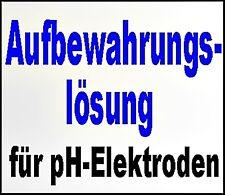 Aufbewahrungslösung für kurzes Aufbewahren von pH-Elektroden 70 ml €10,71/100ml