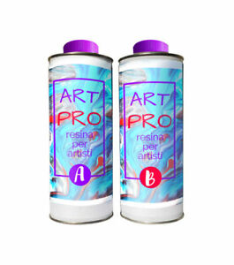 Art Pro Resin Clear High Viscosity 1.6 KG