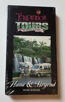 NEW Temptation Tours Hana & Beyond VHS Rare OOP Cargo Van Maui Hawaii HTF SEALED