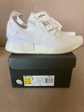 Adidas Original NMD R1 PK Primeknit White & Gum UK 8.5 BY1888 BNIB DS