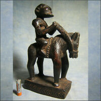AFRICANTIC CAVALIER DOGON MALI ART AFRICAIN ANCIEN STATUETTE AFRICAINE AFRIQUE