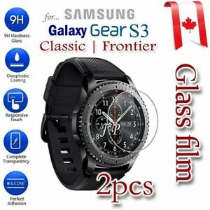 For Samsung Galaxy Gear S2 S3 Tempered Glass Screen Protector Film Guard