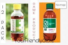 EGO PLANT BY OMNILIFE. 12 BOTTLES 6.07 OZ EA FREE SAMPLES