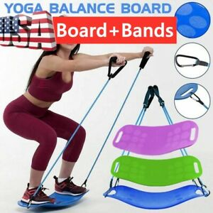 Balance Board Workout Gym Yoga Body Fitness Training Yoga Board Training Tool US