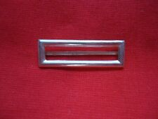 SILVER COLOUR CLASP BAR FOR MILITARY MEDALS MEDAL 35mm