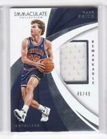 2017-18 Mark Price #49 Jersey Panini Immaculate Cavaliers