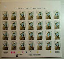 2014 Italia  Fondazione   Vajont   foglio intero  MNh** codice a  barre 1620