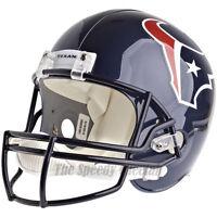 HOUSTON TEXANS RIDDELL VSR4 NFL FULL SIZE REPLICA FOOTBALL HELMET