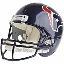 HOUSTON TEXANS RIDDELL VSR4 NFL FULL SIZE REPLICA FOOTBALL HELMET
