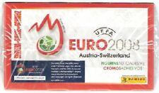 Euro 2008 Switzerland Ed. Box 100 Packs Stickers Panini