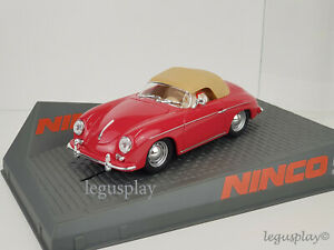 Scx Scalextric Slot Ninco 50567 Porsche 356-A Speedster Red