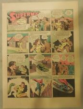 Superman Sunday Page #148 by Siegel & Shuster from 9/6/1942 Half Page:Year #3!
