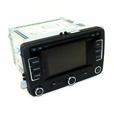 VW RNS 315 Radio Navigationssystem EU Map Touchscreen Navi Bluetooth SD MP3 TMC