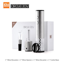 Xiaomi Circle Joy Round Wine Opener Stainless Steel Wine Stopper Cap Cutter F4K7