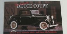 Franklin Mint Brochure 1932 Ford Deuce Coupe