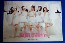 GIRL'S DAY - Everyday (1st Mini Album) Official Poster Hard Tube Case NEW