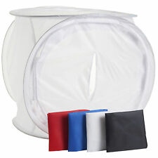 80CM Photography Studio Soft Light Box Photo Tent Cube 4 Colour Backdrop