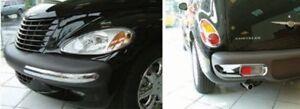 Chrom Stoßstangen Set für Chrysler PT Cruiser 4 teilig