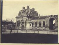 I Grandi Camminare Del Château Da Chantilly Francia Vintage Analogica Ca 1900