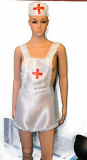 Sexy Hot Adult Naughty Nurse Uniform Fancy Dress Bedside Manner Costume Outfit
