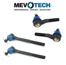 For Chevy  Blazer GMC Jimmy Sonoma 4X4 Complete Outer & Inner Tie Rod Ends KIT