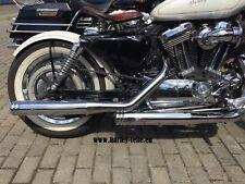Auspuffanlage Verstellbar für Harley Davidson MCJ Sportster,Dyna,Softail